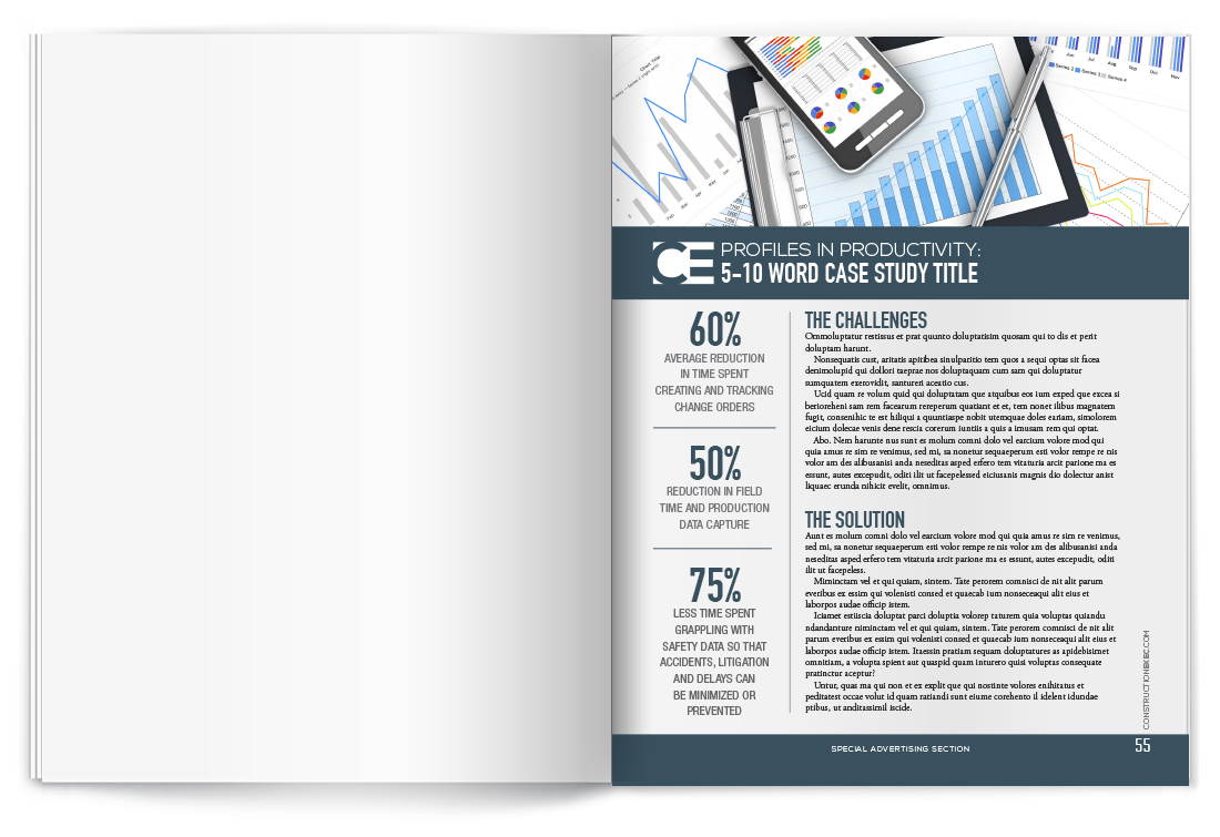Option #1 - Full-Page Case Study